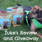 Healthy Training and Treating with Zuke's
