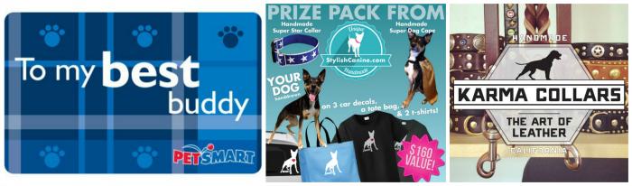 Gigantic Pet Blogger Summer Giveaway prizes