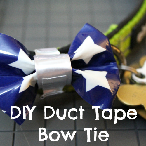 DIY Duct Tape Bow Tie