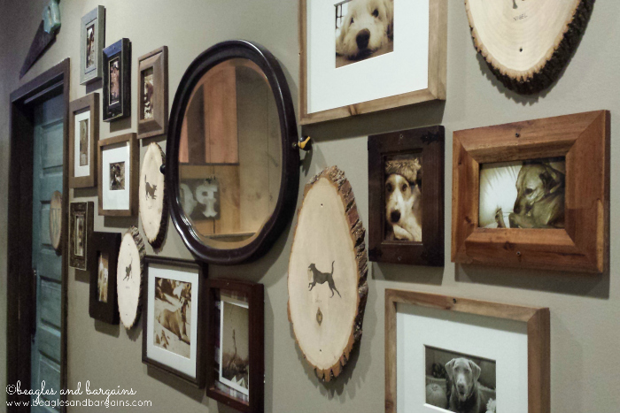 Dog Hall of Fame in Copperwood Tavern.