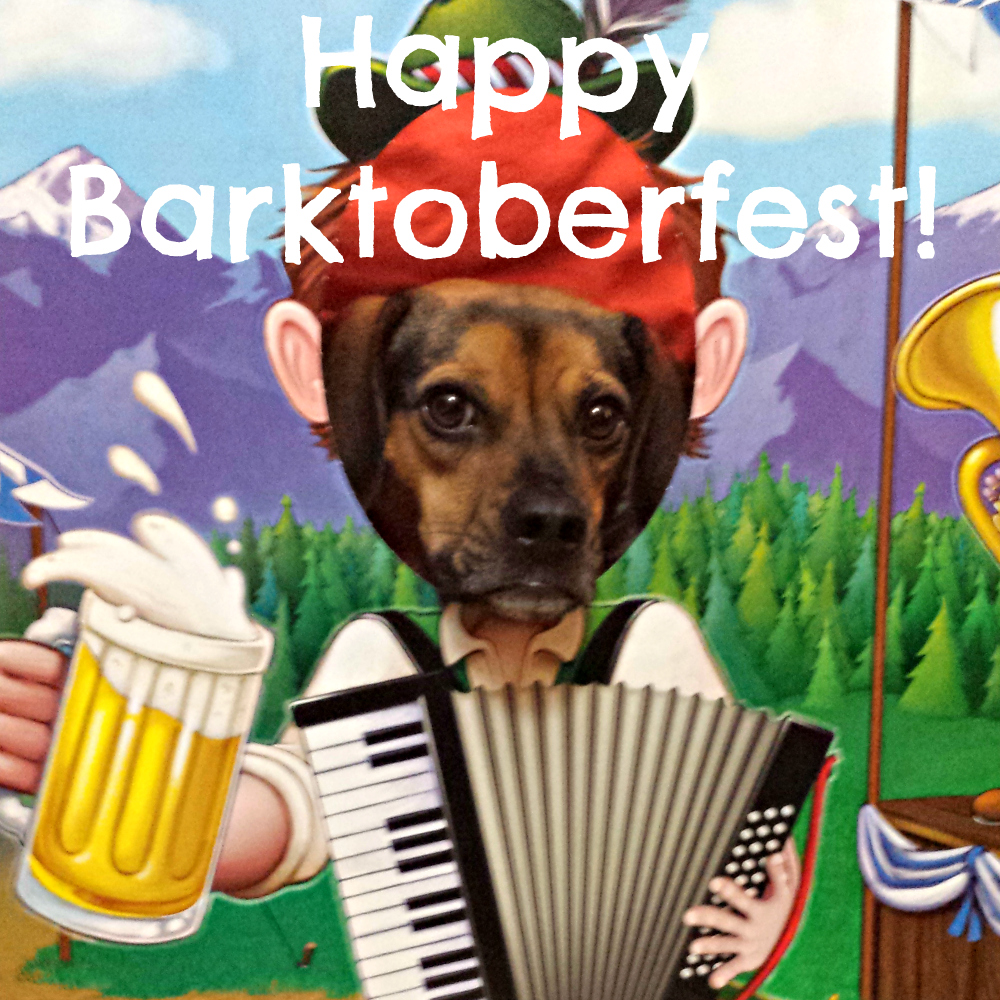 Happy Barktoberfest!