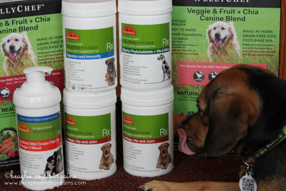 WellyTails pet health products