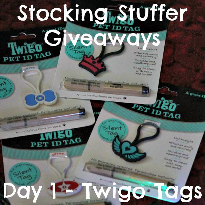 Stocking Stuffer Giveaways - Day 1 - Twigo Tags