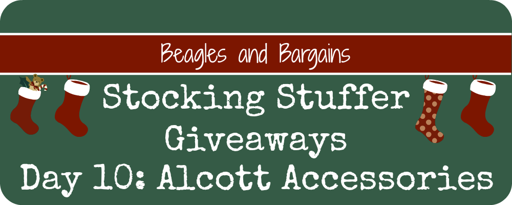Stocking Stuffer Giveaway - Day 10 - Alcott Accessories