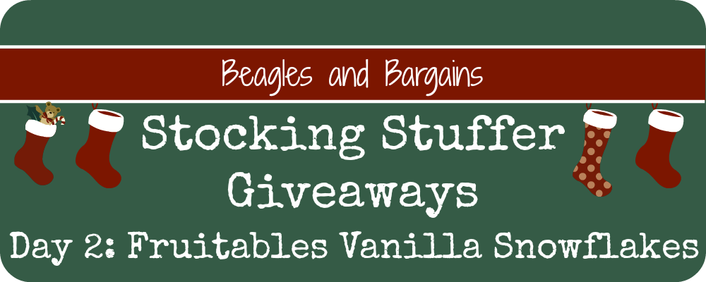 Stocking Stuffer Giveaway - Day 2 - Fruitables Vanilla Snowflakes