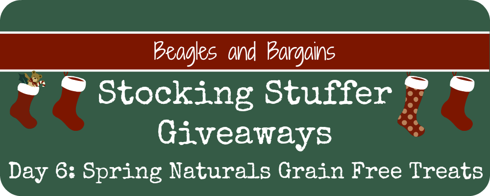 Stocking Stuffer Giveaway - Day 6 - Spring Naturals Grain Free Treats
