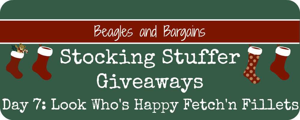 Stocking Stuffer Giveaway - Day 7 - Look Who's Happy Fetch'n Fillets