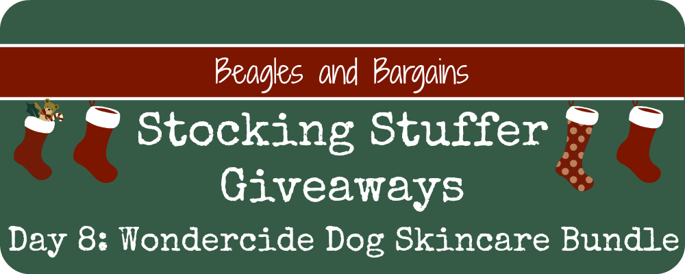 Stocking Stuffer Giveaway - Day 8 - Wondercide Natural Skin Care for Dogs