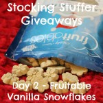 Stocking Stuffer Giveaway Day 2: Fruitables Vanilla Snowflakes