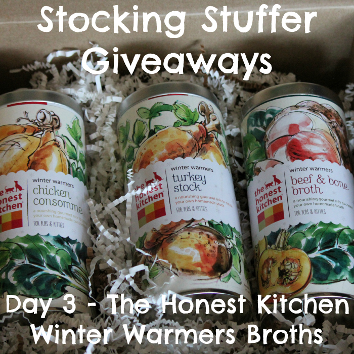 Stocking Stuffer Giveaway - Day 3 - The Honest Kitchen Winter Warmers Broths