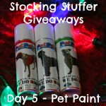 Stocking Stuffer Giveaway Day 5: Pet Paint