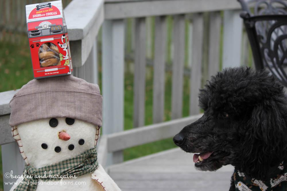 Keto with Three Dog Bakery Christmas Cookie Trio