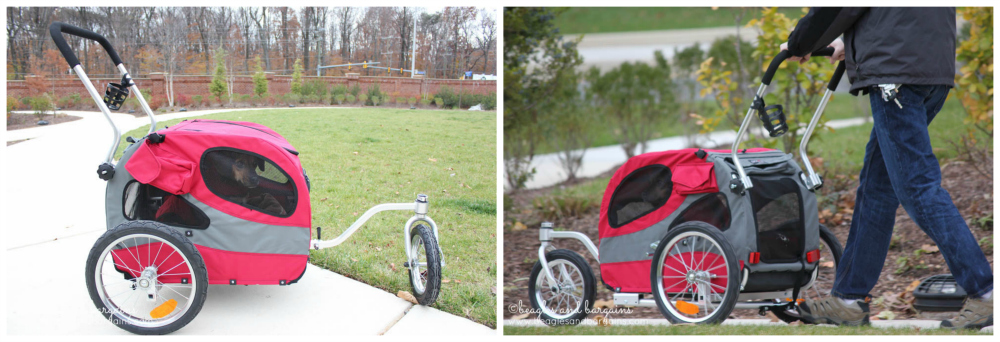 Stocking Stuffer Giveaway - Day 14 - Solvit HoundAbout II Bicycle Trailer and Stroller Conversion Kit