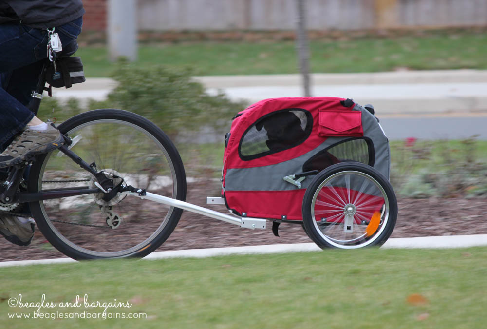 Stocking Stuffer Giveaway - Day 14 - Solvit HoundAbout II Bicycle Trailer