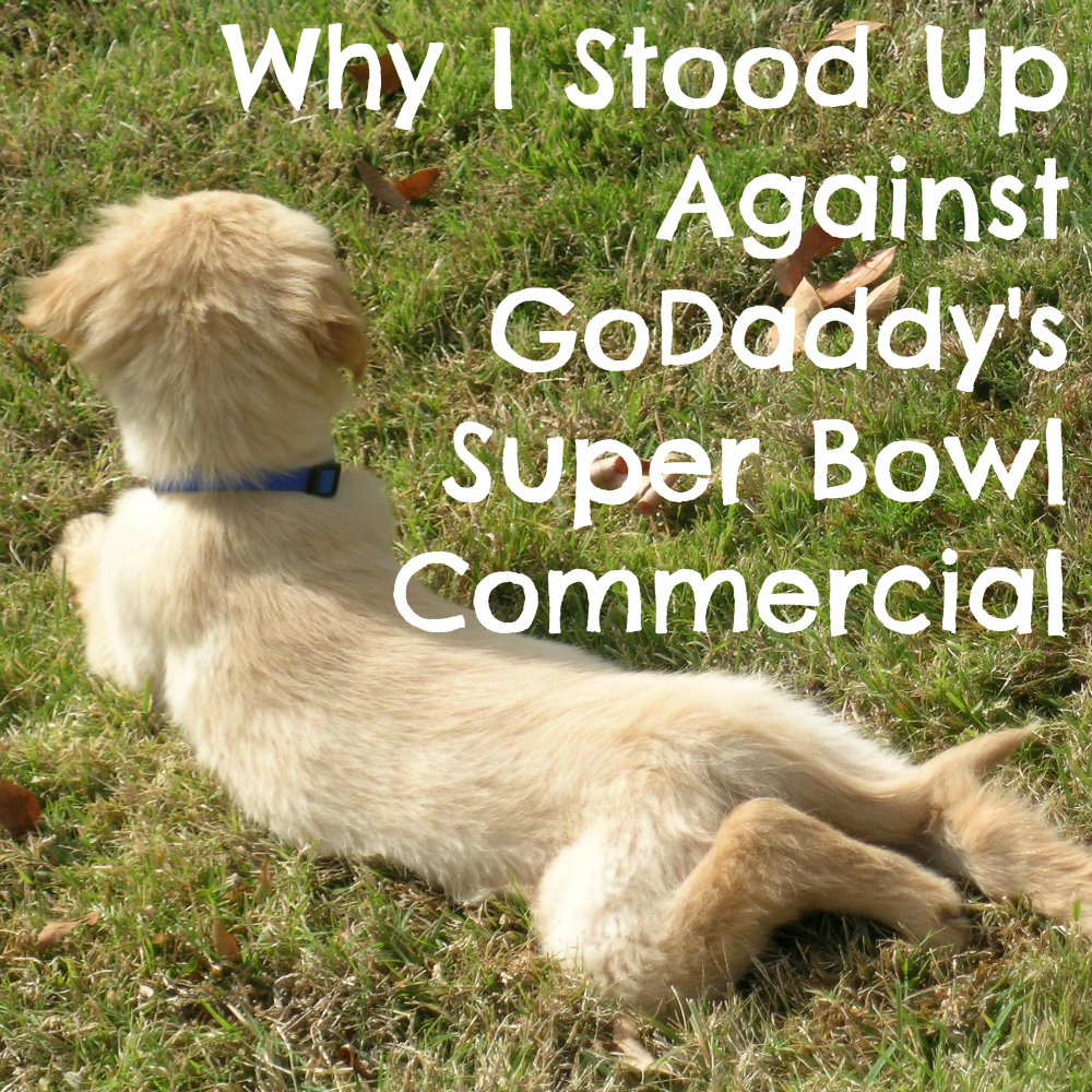 Why I Stood Up Against GoDaddy's Super Bowl Commercial