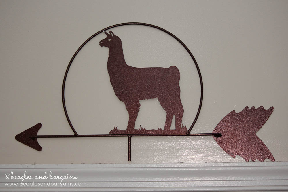 I Liked Llamas Before Llamas Were Cool - Llama weather vane