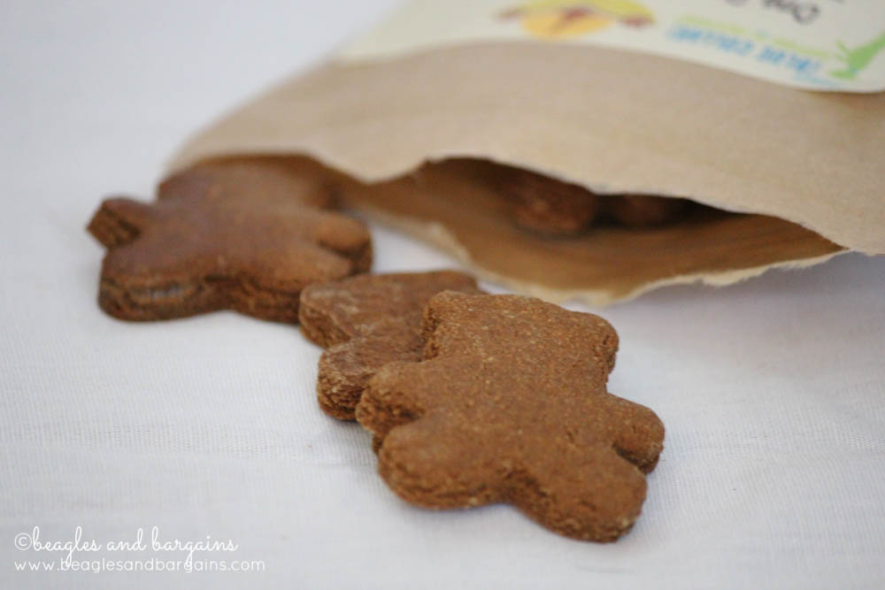 One Dog Organic Bakery  - Teddy Bear shaped Ginger Snaps