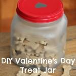 DIY Valentine's Day Treat Jar + ANNOUNCEMENT!