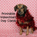 Printable Valentine's Day Cards for Dogs and Dog Lovers