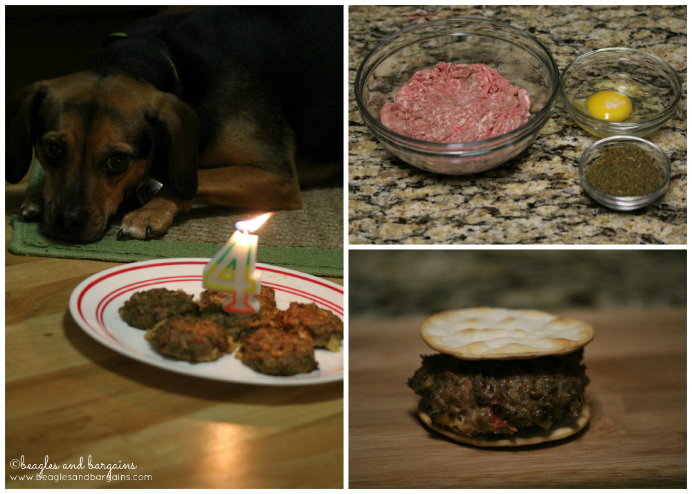 How to make WellyChef Birthday Burgers for Dogs