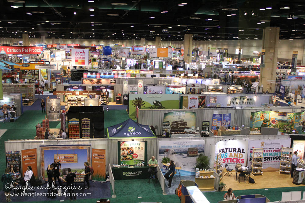 Aerial View of Global Pet Expo 2015