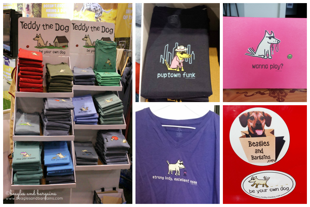 Teddy the Dog - Shirts, magnets, and more!