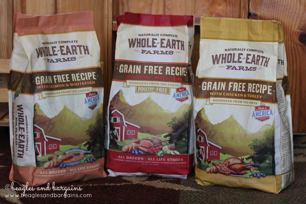 Merrick Whole Earth Farms Dry Dog Food - New Recipes