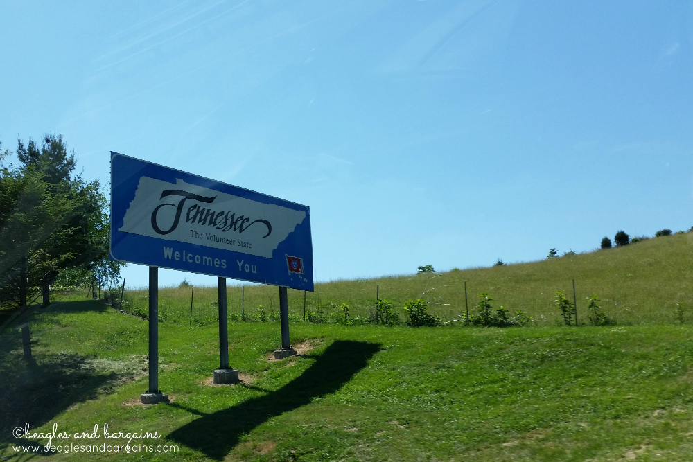 52 Snapshots of Life - SKY - Tennessee Road Trip