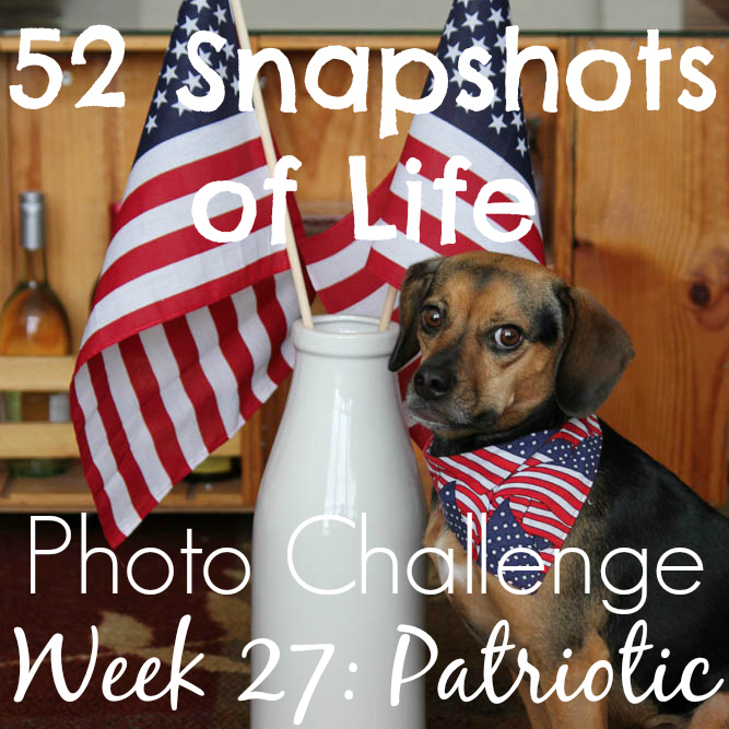 52 Snapshots of Life - Patriotic - Born on the Fourth of July