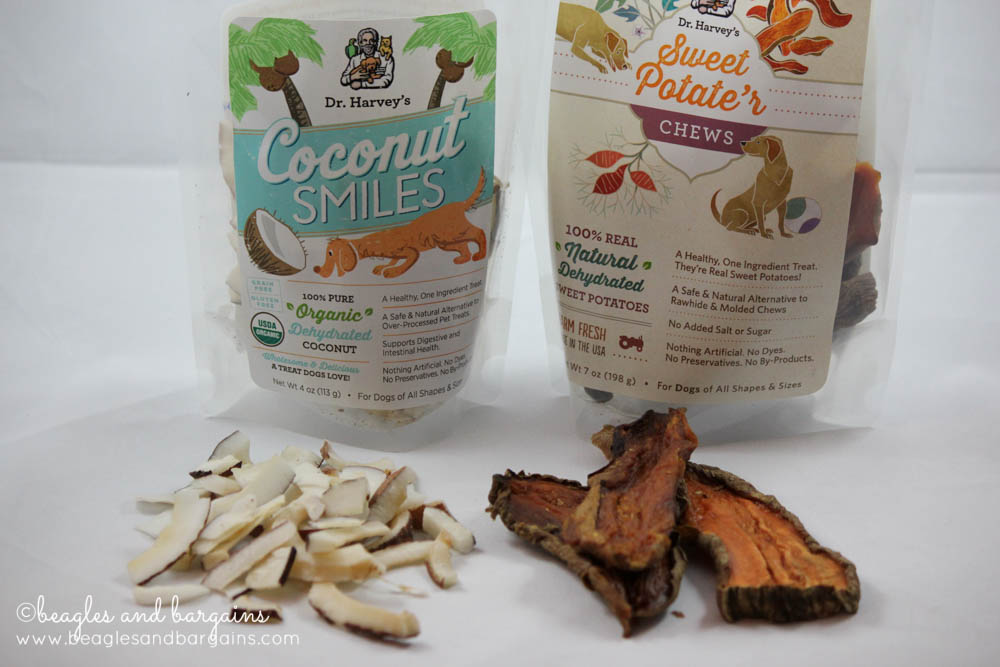 Dr. Harvey's Coconut Smiles and Sweet Potate'r Chews