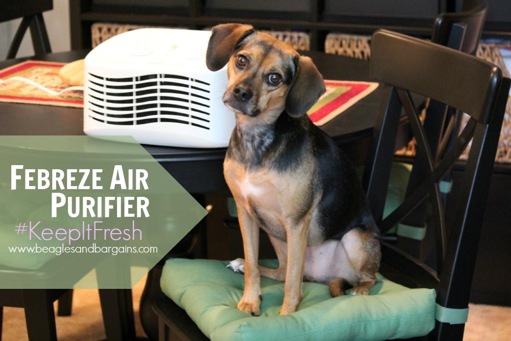 Febreze Air Purifier #KeepItFresh