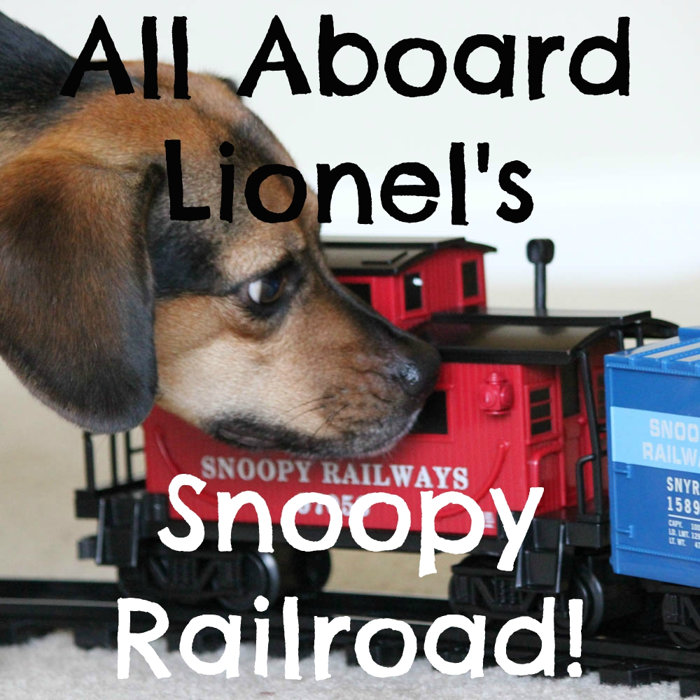 All Aboard Lionel's Snoopy Railroad!