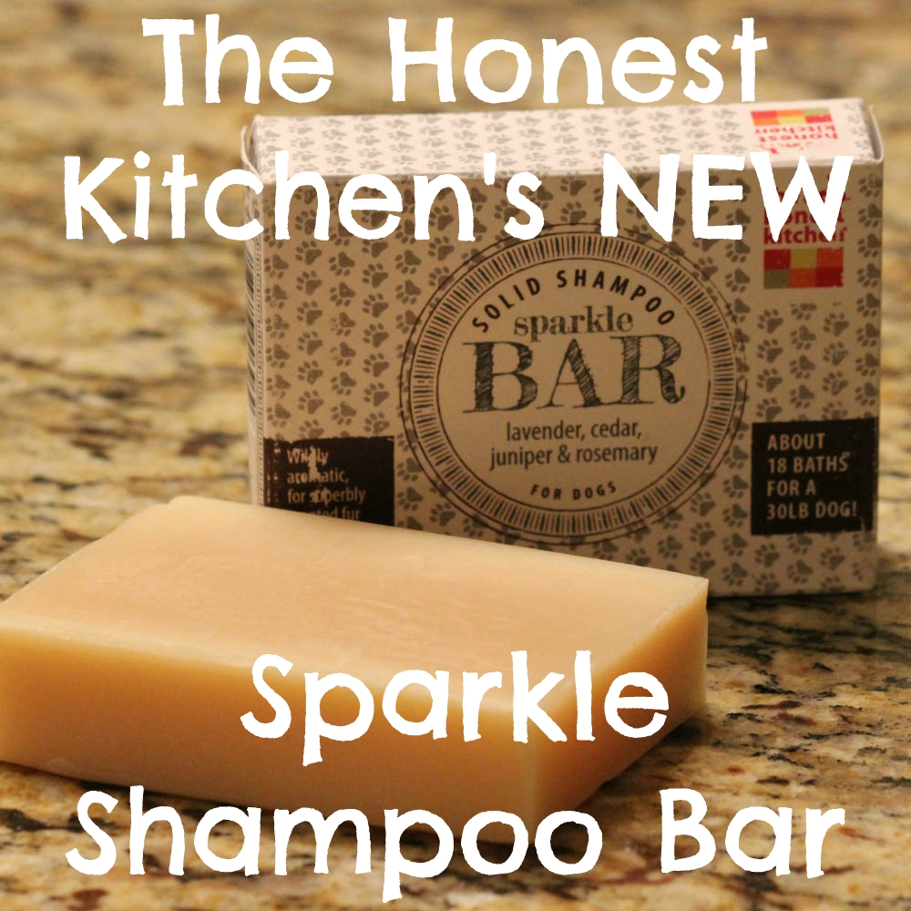 The Honest Kitchen's NEW Sparkle Shampoo Bar for Dogs
