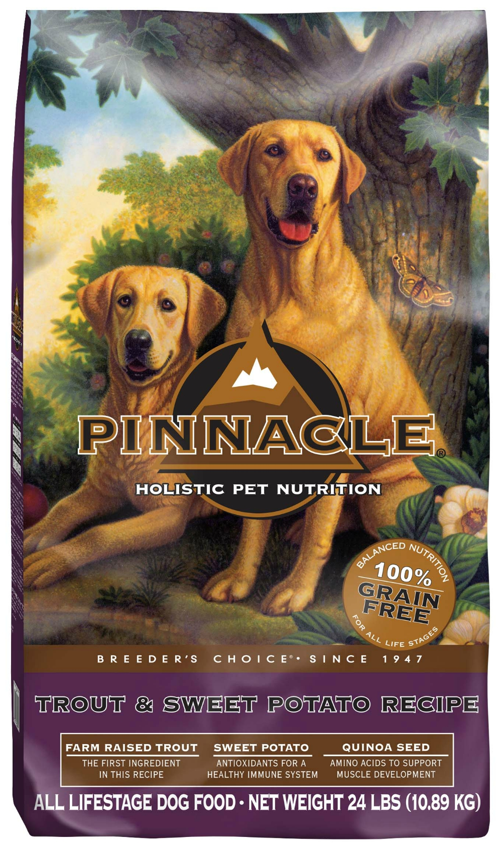 pinnacle grain free dog food beagles and bargains