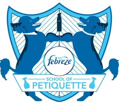 Febreze School of Petiquette Crest