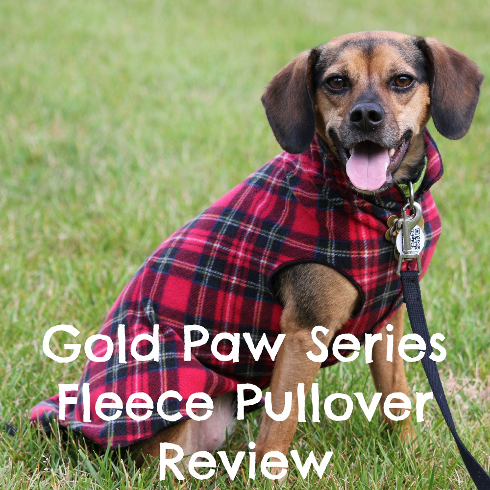 Gold Paw Series Fleece Pullover Review