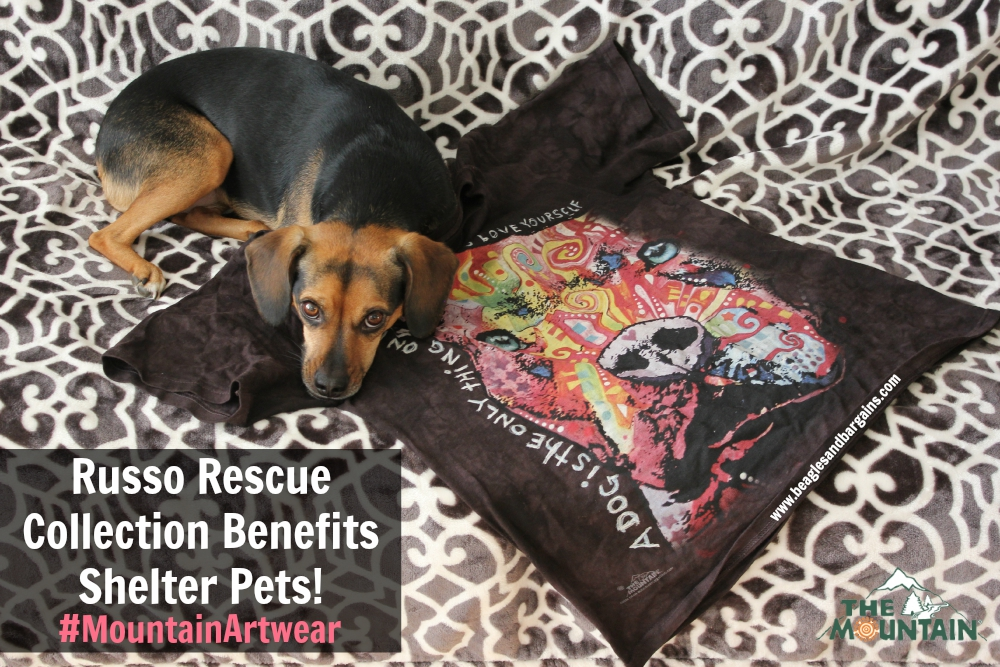 The Mountain Russo Rescue Collection benefits shelter pets!