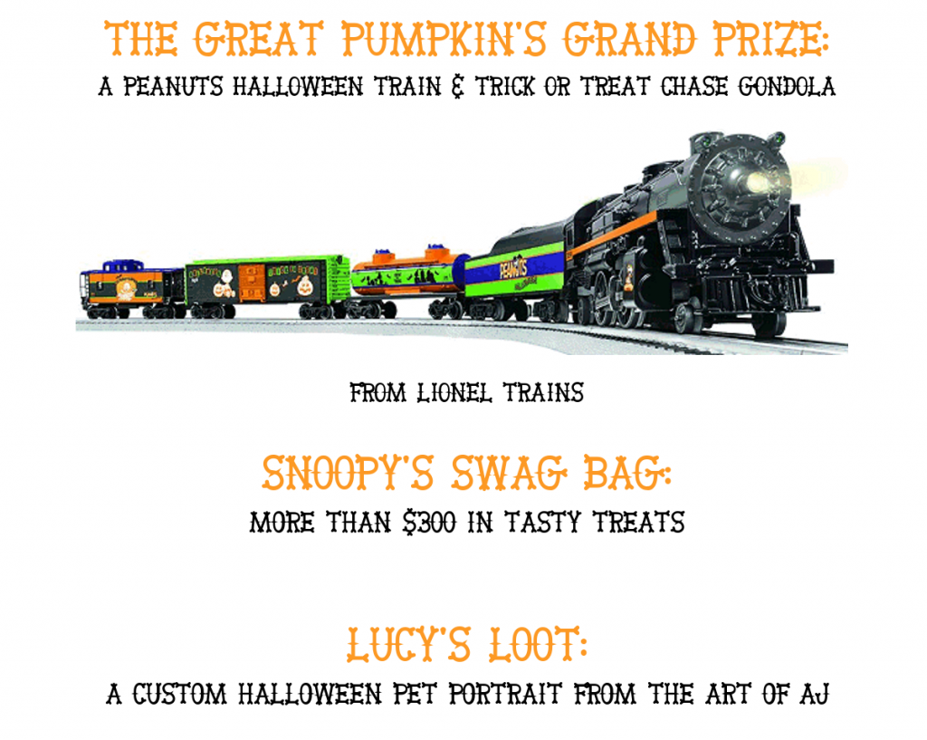 Trick or Treat Giveaway Hop 2015 - Three (3) Grand Prize Packages!