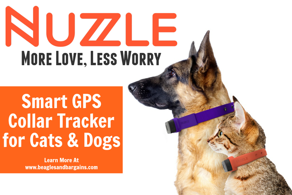 Nuzzle Smart GPS Tracker for Cats and Dogs