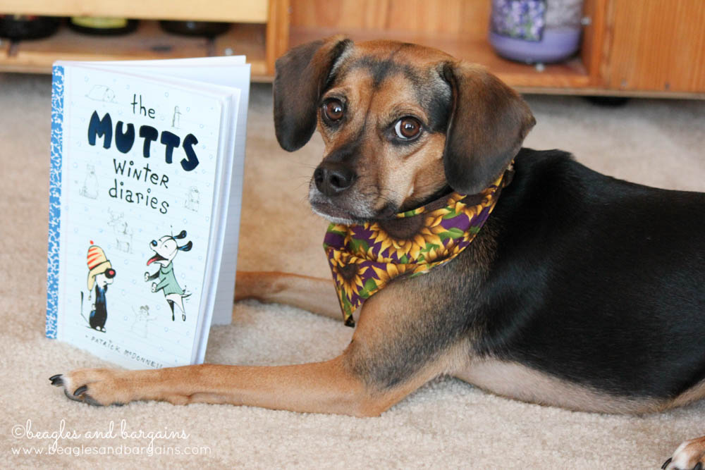 Luna read The Mutts Winter Diaries