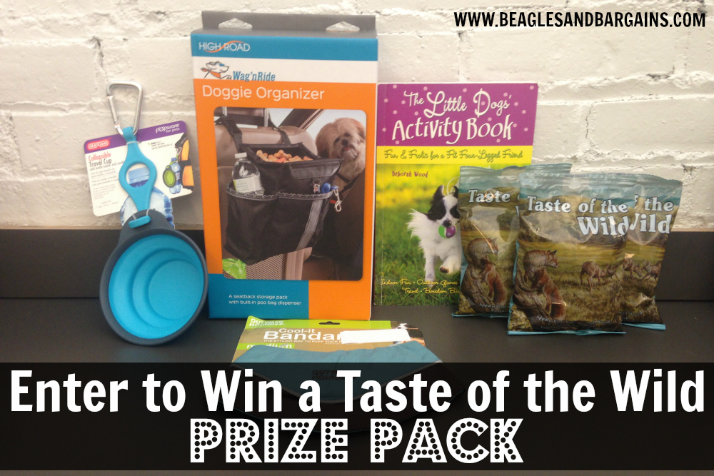 Enter to win a Taste of the Wild Prize Pack
