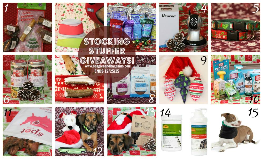 Stocking Stuffer Giveaways 2015 Prizes