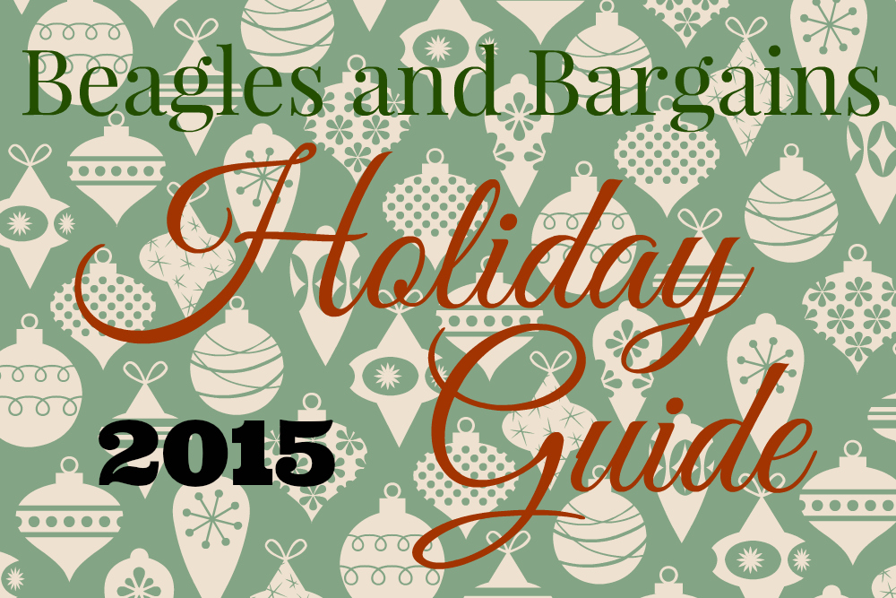 Beagles & Bargains Holiday Guide 2015
