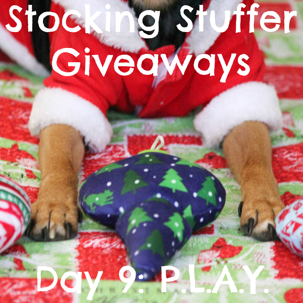Beagles & Bargains Stocking Stuffer Giveaways 2015 - Day 9 - P.L.A.Y. Santa's Little Squeakers