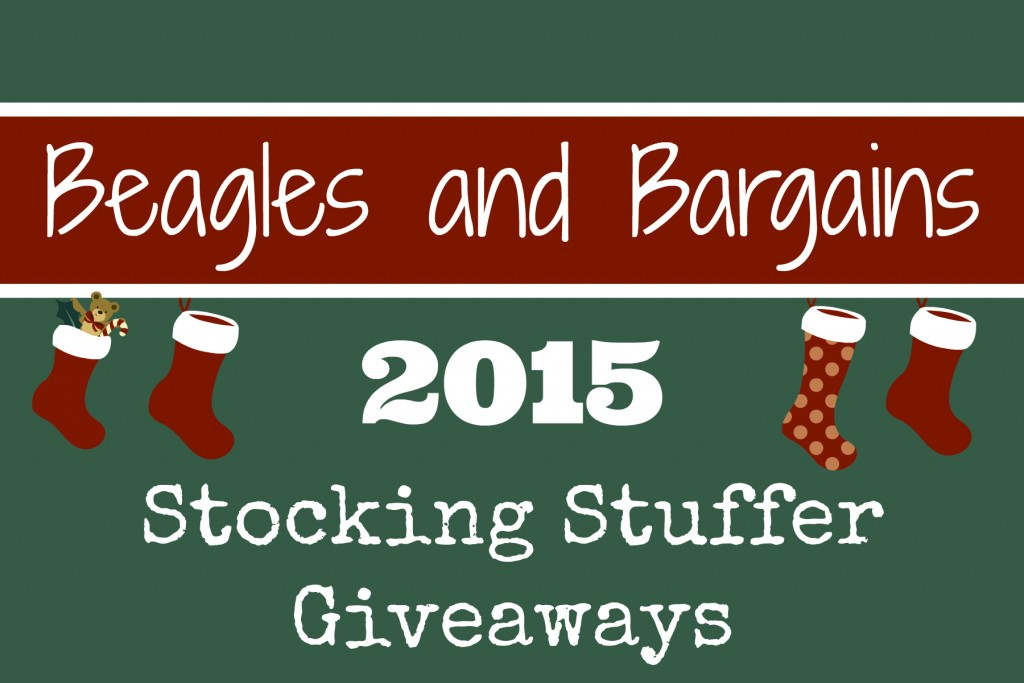 Beagles & Bargains Stocking Stuffer Giveaways 2015