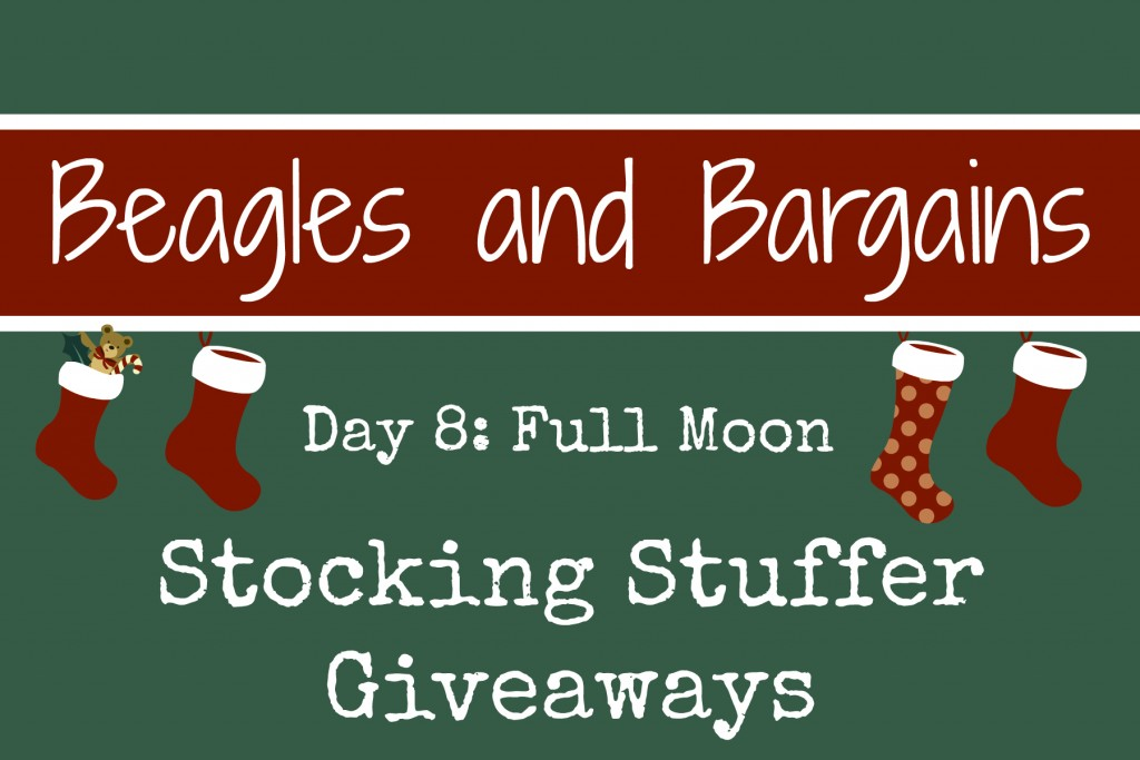 Beagles & Bargains Stocking Stuffer Giveaways 2015 - Day 8 - Full Moon