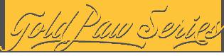 Gold Paw Series Logo