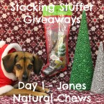 Stocking Stuffer Giveaway Day 1: Jones Natural Chews