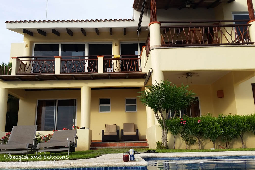 Our vacation house in Puerto Escondido, Mexico
