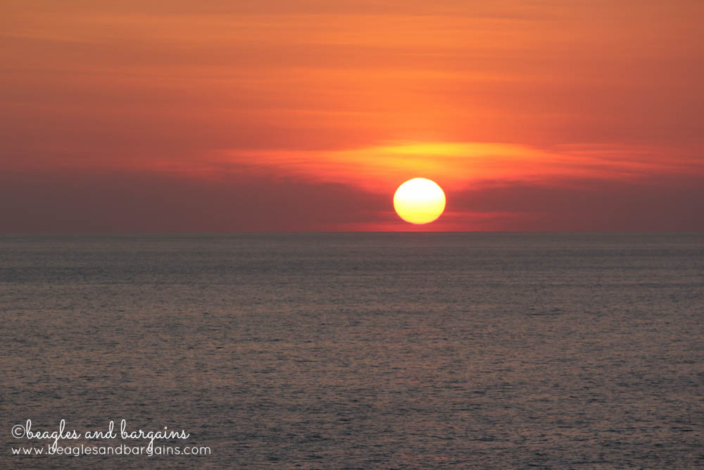 Beautiful sunsets in Puerto Escondido